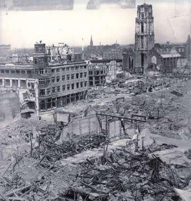 Rotterdam dopo i bombaardamenti
