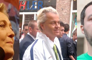 Geert Wilders Salvini e Le Pen