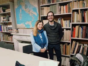 Marco Rotondo con La dott.ssa Laura Fontana
