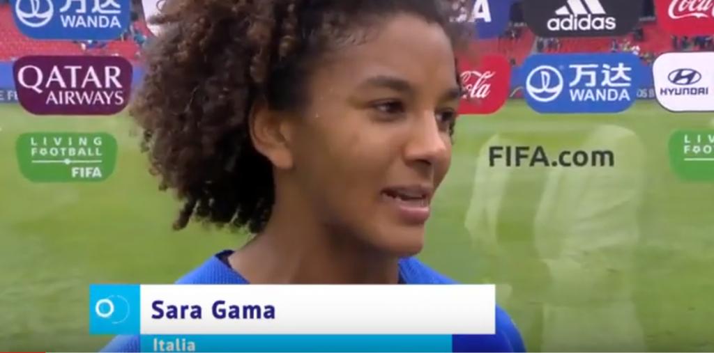 """Youtube - Sara Gama: """"Questa squadra ha un cuore grande"""""""